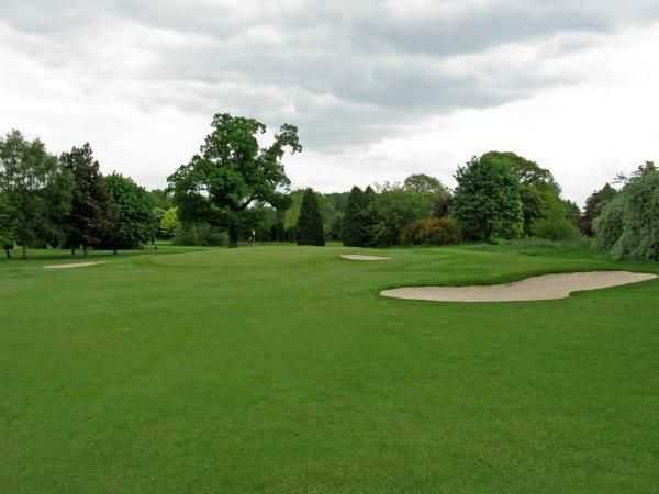 Ingestre Park's green's are guarded well both at the greenside and the surrounds