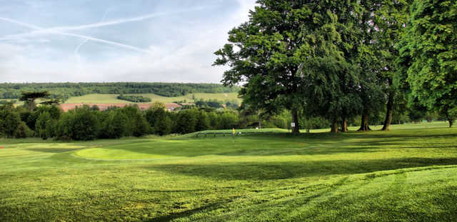 The 9th green on the Darenth golf course