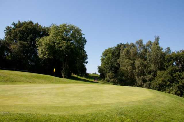 Imaculate greens await you on the 16th of the Spitfire course at West Malling