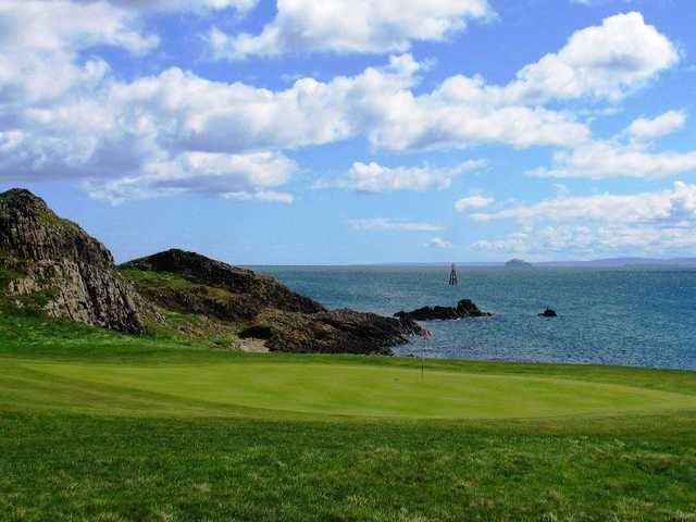 The fantastic views as seen at the Elie Golf Club
