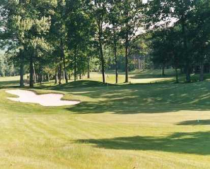 A view of the 16th hole at Bowling Green Golf Club