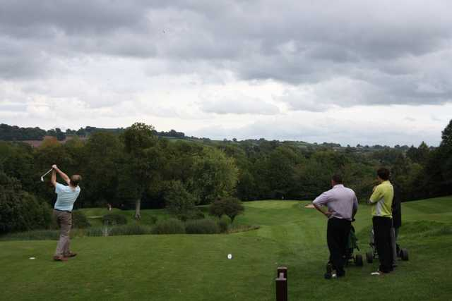 Teeing off at Monmouthshire
