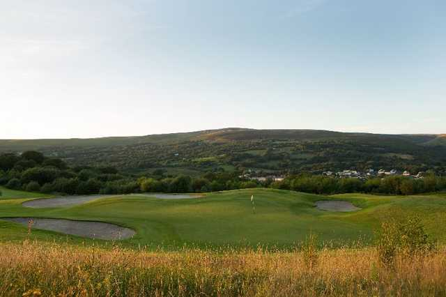 Don't let the picturesque backdrop take your mind off the heavily-guarded greens