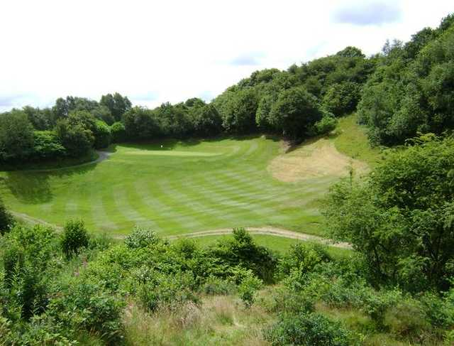 The sloping fairways at Whitefield provide a challenging game