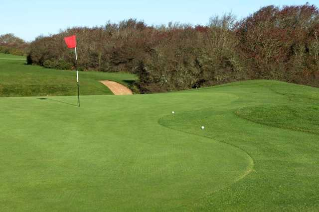 The well manicured greens at Seaford Golf Course