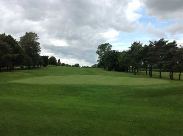 A scenic view of the 18th green at Filton Golf Club
