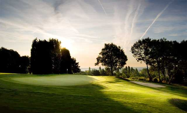The 14th hole at the Shooters Hill Golf Club