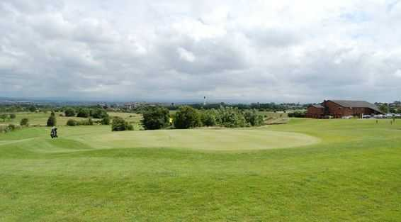 A view of the 1st tee at Great Lever and Farnworth