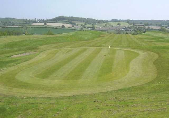 The great views surrounding the Leen Valley GC