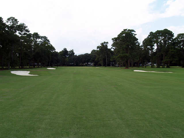 View of the 7th green at Bacon Park Golf Course