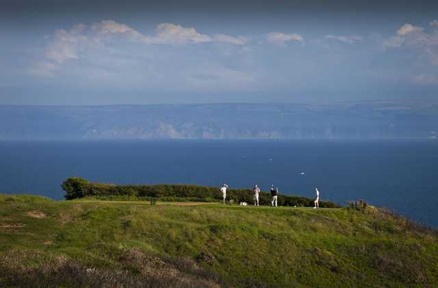 The outstanding views of Langland Bay Golf Club