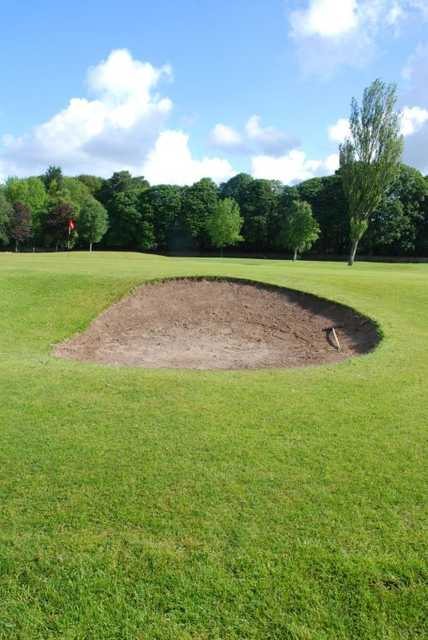 Duxbury's greenside bunkers waiting to catch out the unsuspecting golfer