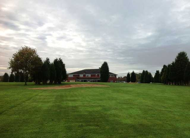 The clubhouse at the Wergs Golf Club