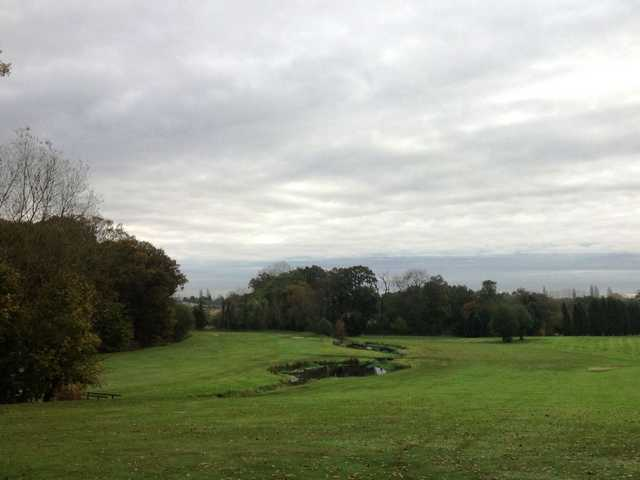 A view down the fairway at Wergs