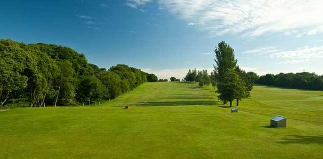 The Dunnikier course's parkland setting