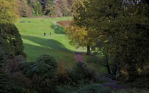 The scenic surroundings at the Brancepeth Castle Golf Club