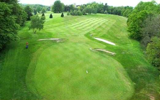 Looking down the fairway from the 12th hole at Brancepeth golf course