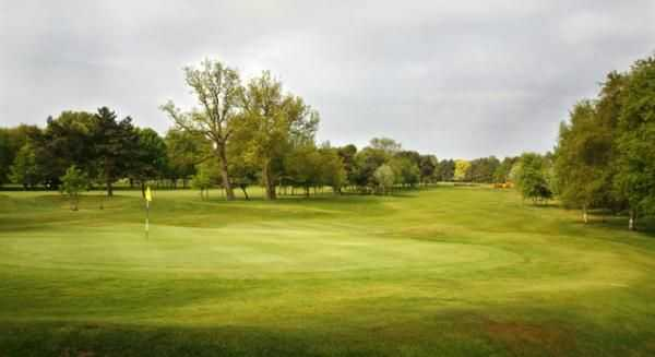 Immaculate greens at Harrogate Golf Club