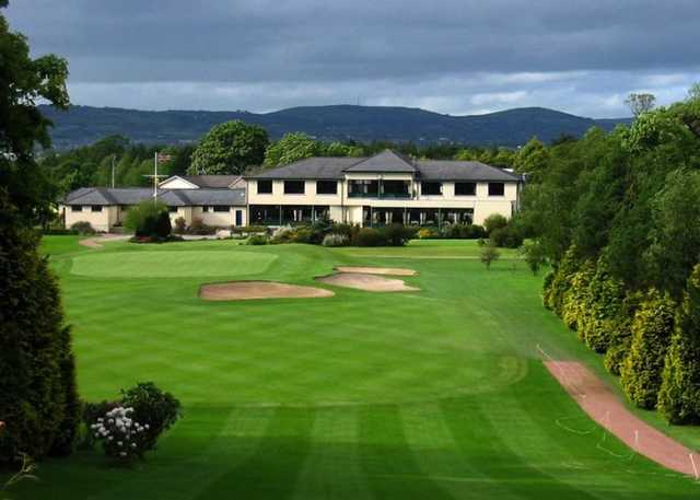 The clubhouse at the Lisburn Golf Club