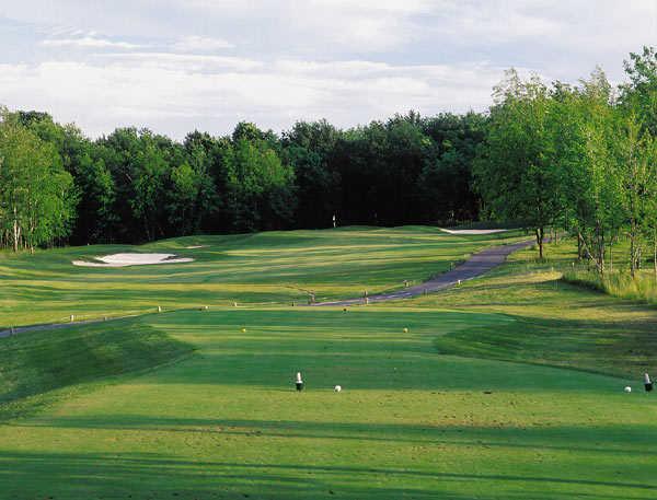 A view of the 5th green at Centennial Golf Club - Fairways Course