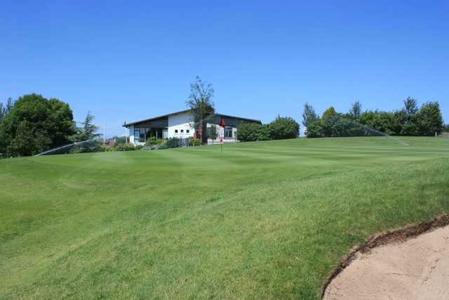 A view of the Clubhouse at Spa Golf Club