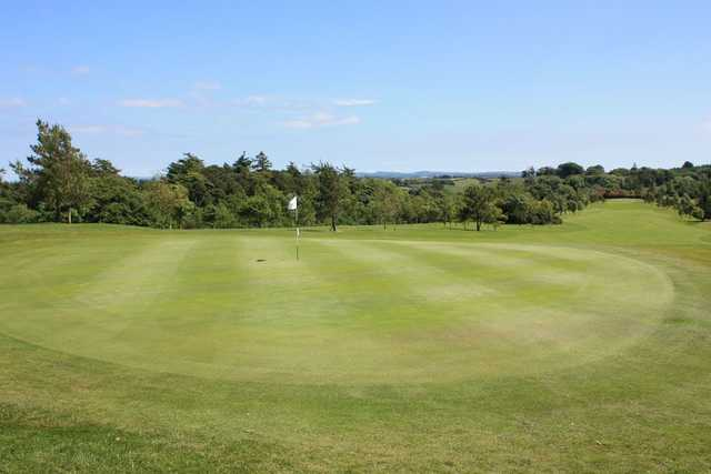The greens are kept in great condition