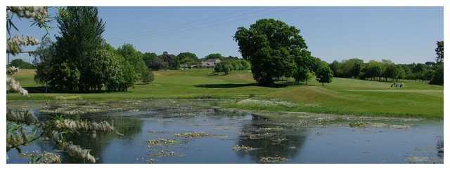 Dudsbury Golf Club boasts some amazing views