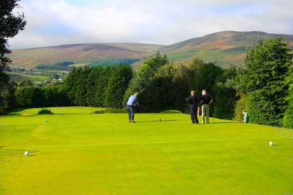 Warrenpoint boasts some amazing greens