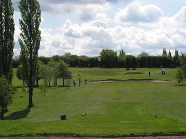 A view of the 10th hole at the Stafford Castle Golf Club