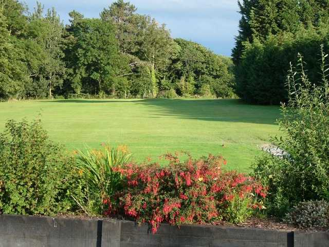A view of the 4th green at the Rhuddlan Golf Club