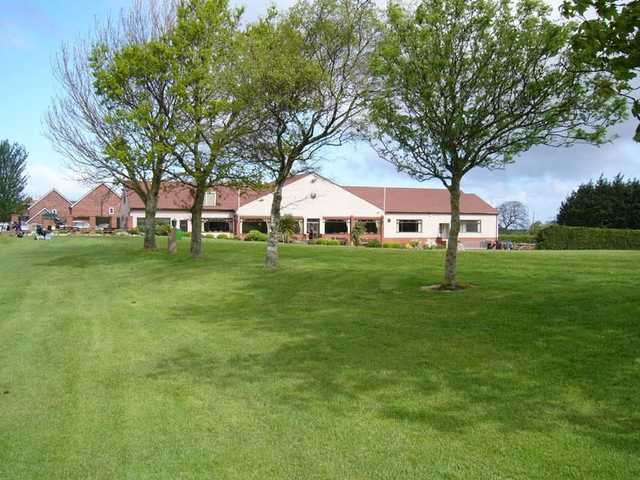 The Rhuddlan Golf Club clubhouse