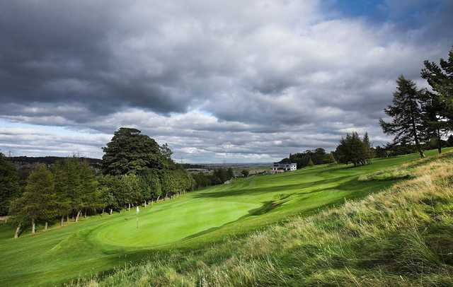 The seventh hole at the Swanston Golf Club