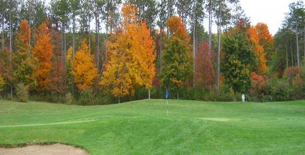 An autumn view from Red Hook Golf Club