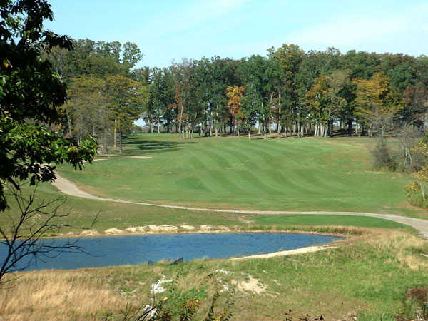 View from the 10th tee box at Split Rock Golf Club