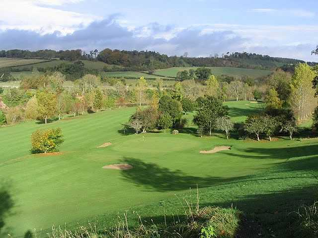 View from St Boswells Golf Club