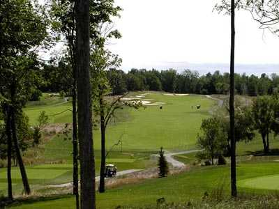 A view of the 12th green at Ravenwood Golf Course