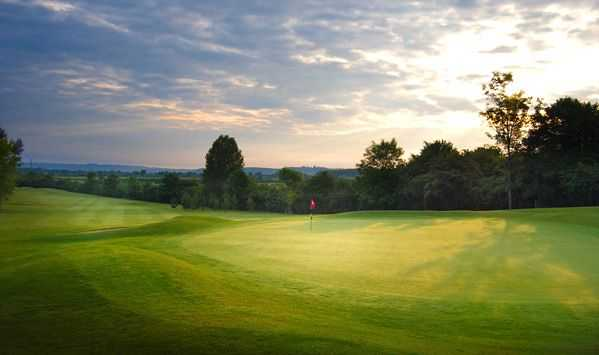 The large 16th green will challenge your short game