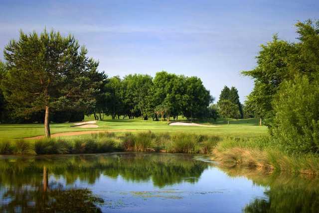 12th hole at Chipping Sodbury Golf Club