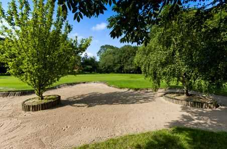 Bunker at Laceby Manor Golf Club