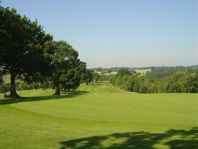 Large greens at Little Lakes Golf Club  to test your short game