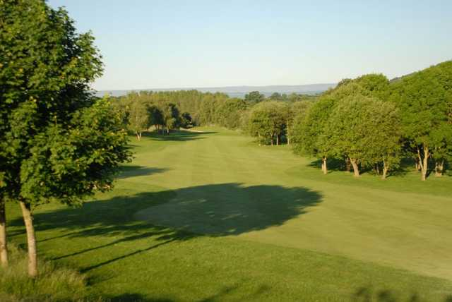 Fairway from Burghill Valley Golf Club