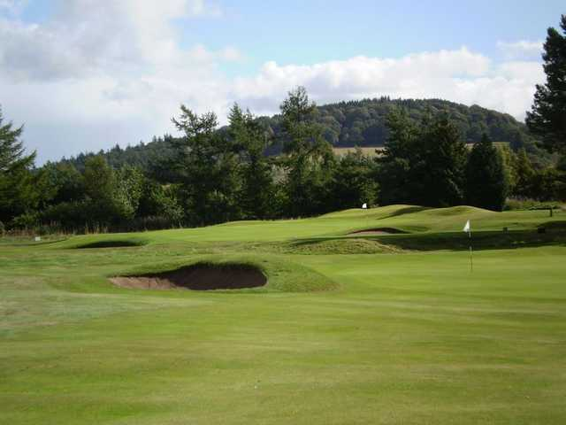 View from Forfar Golf Club