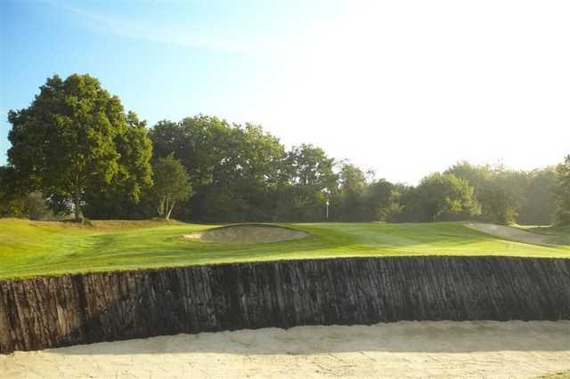 Fairway bunker at Burnham Beeches Golf Club