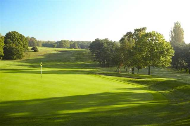 Green at Burnham Beeches Golf Club