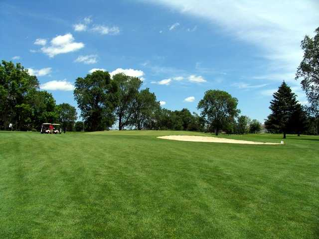 River Cliff GC: View from 2nd green