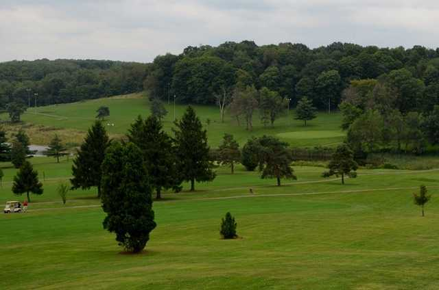 A view from Fort Cherry Golf Club
