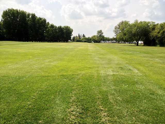 View of a fairway at Edmonton Garrison Memorial Golf & Curling Club