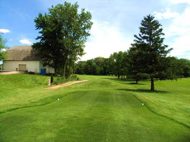 River Cliff GC: View from 7th tee