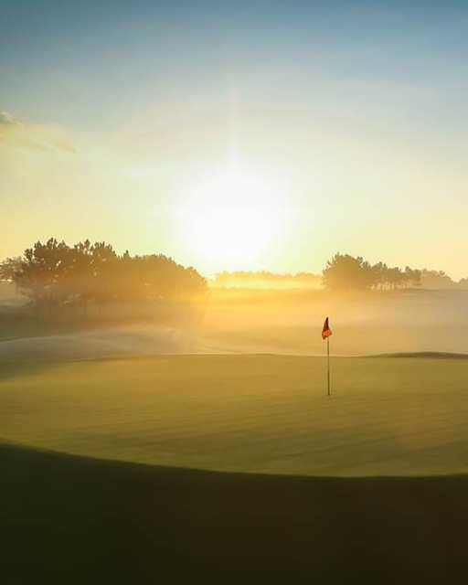 Misty morning at Orange County National