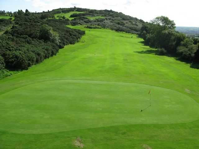 14th hole at Scrabo Golf Club